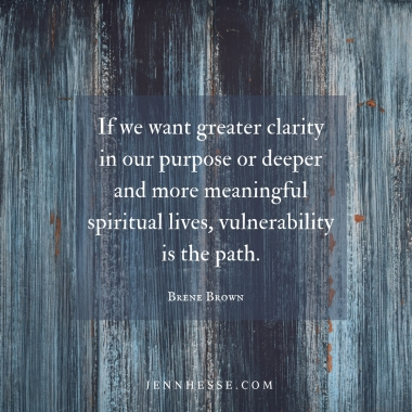 vulnerability purpose quote brene brown