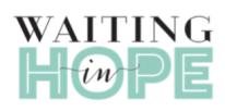 Waiting in Hope logo